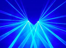 Plavi laseri