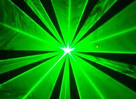 Zeleni laseri